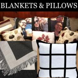 BLANKETS & PILLOWS