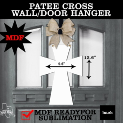 PATEE CROSS WALL HANGER