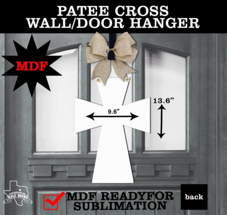 PATEE CROSS WALL HANGER