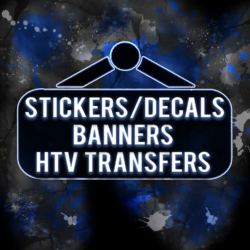 HTV - BANNERS- STICKERS