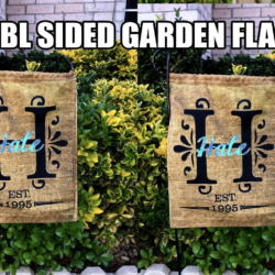 RTS DOUBLE SIDED GARDEN FLAG