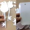 MDF SANTA KEY AND TAG
